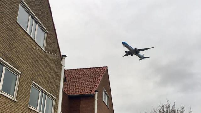 Vervuilend vliegtuig