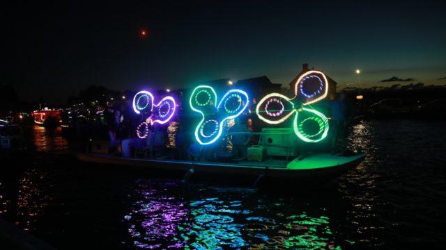 Verlichte botenshow: Wat een spektakel - Nieuwe Meerbode