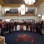 raadsvergadering voor installatie wethouders