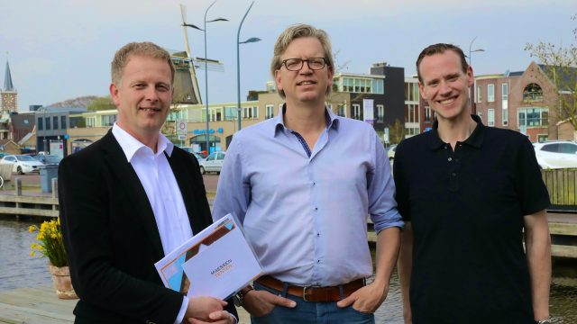 Nieuwe tent Feestweek Aalsmeer