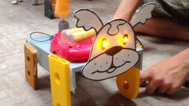 Techniki speelgoed hondje