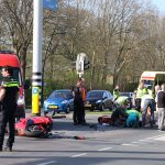 ongeval met motorrijder