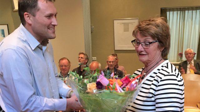 Joke Overbeek 50 jaar lid van ACOV