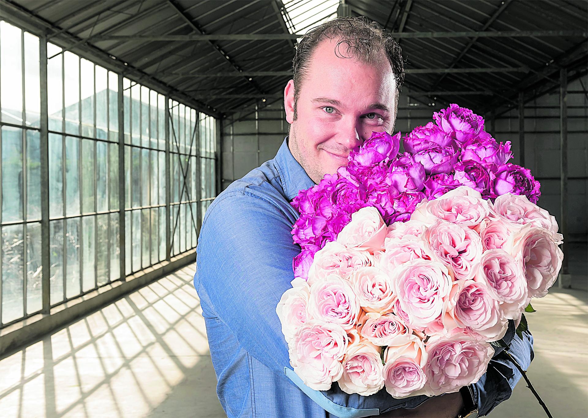 Wouter de Vries van de Parfum Flower Company (PFC)