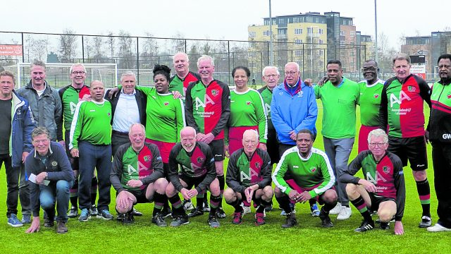 Walking football team FCA