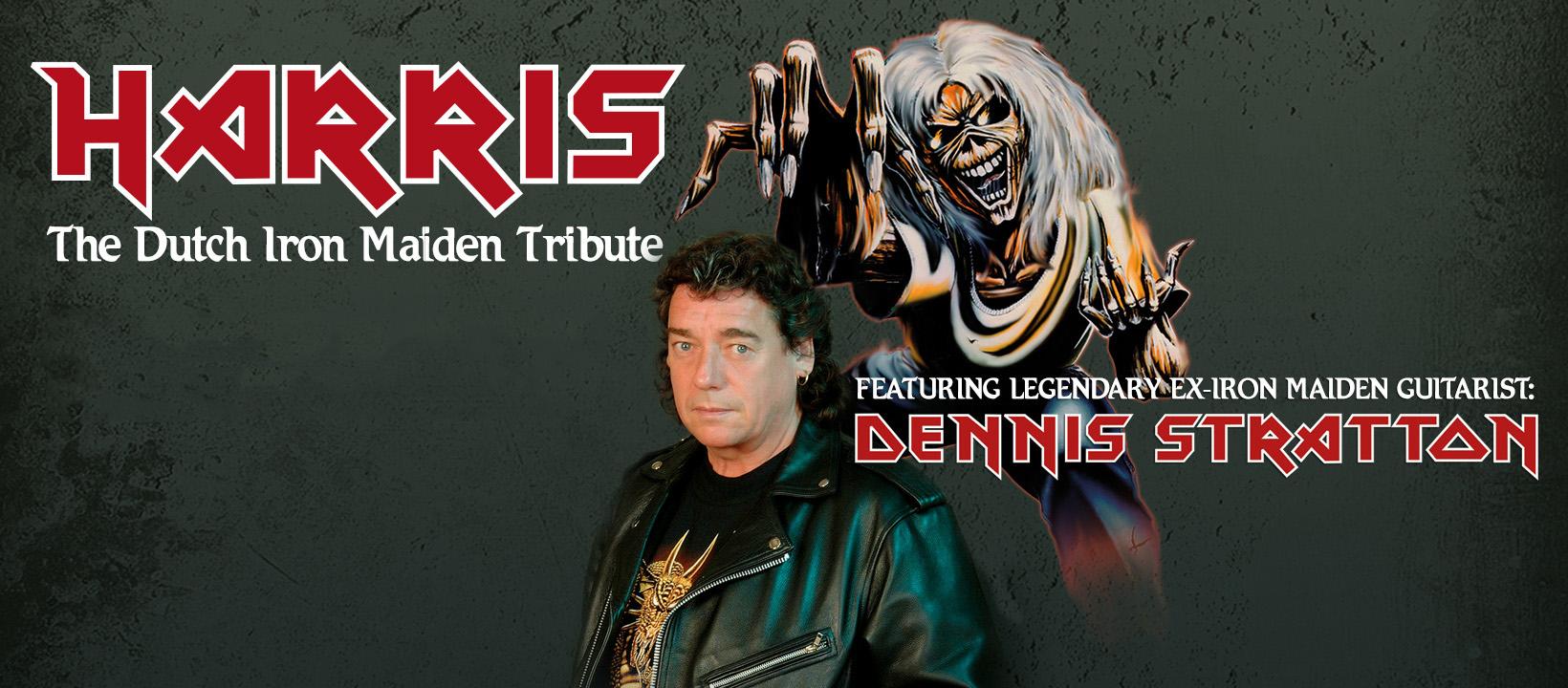 Iron Maiden Tribute Harris & Stratton in P60