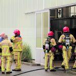 brand bij kwekerij