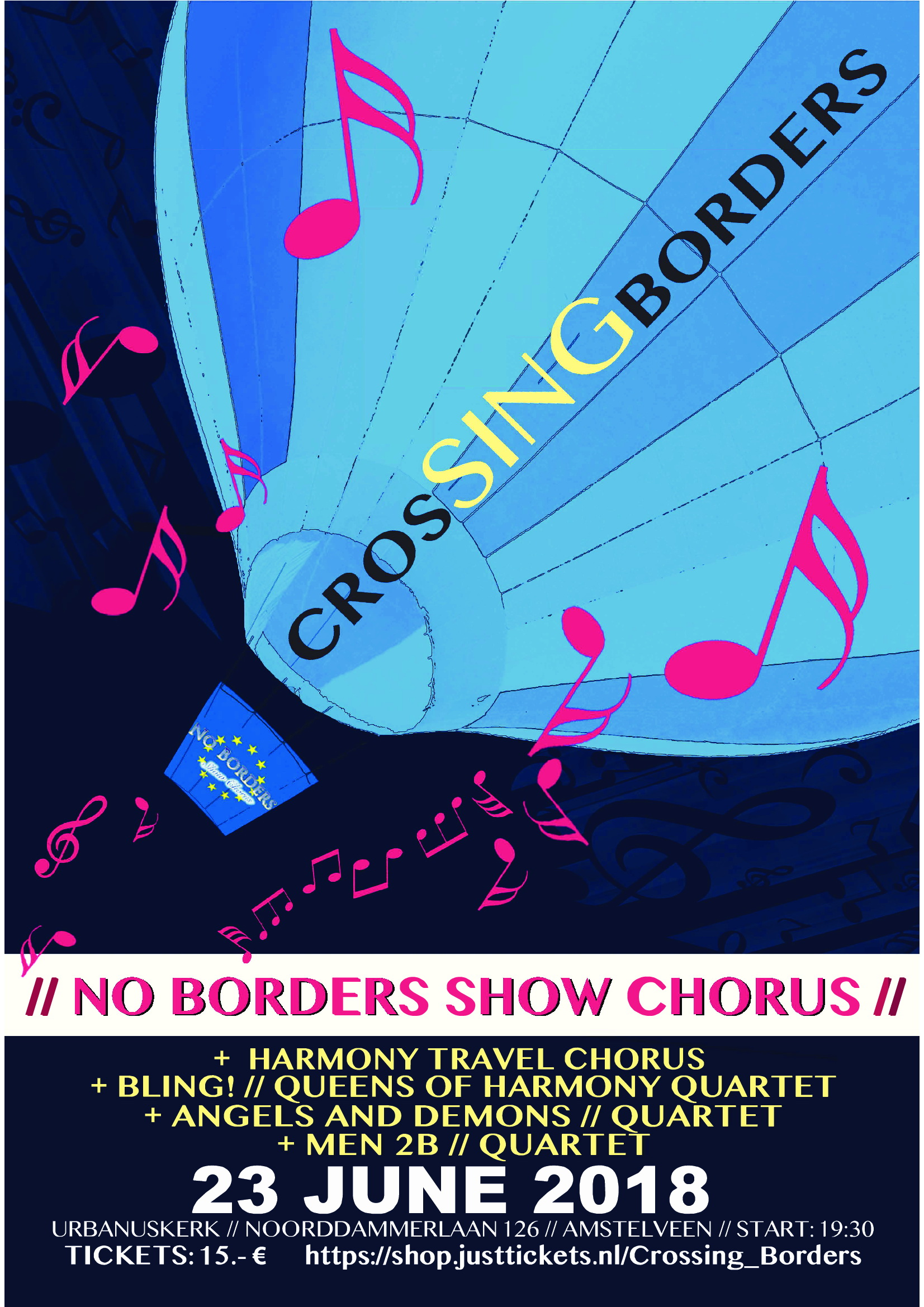 No-Borders-show Urbanuskerk
