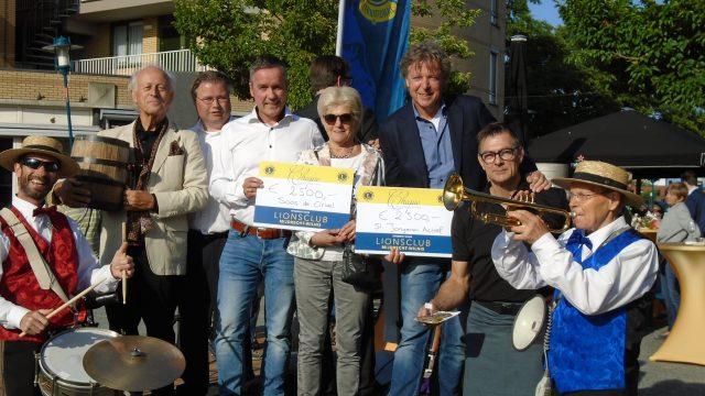 'Haringhappen' levert 5000 euro op