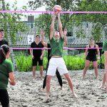 Spannende finales bij beachvolleybaltoernooi