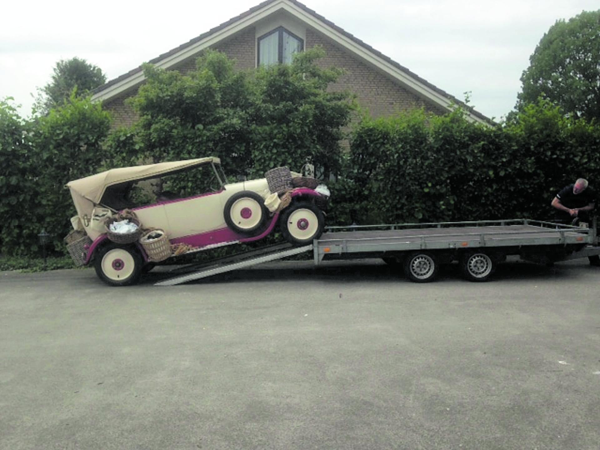 Contactsleutel Citroën Torpedo (1926) kwijt!