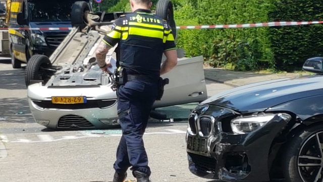 Ongeval bij kruising Anselmusstraat