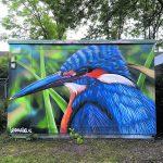 Sander Bosman met graffiti crew in KunstKas