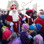 Grootse ontvangst voor Sinterklaas in Aalsmeer