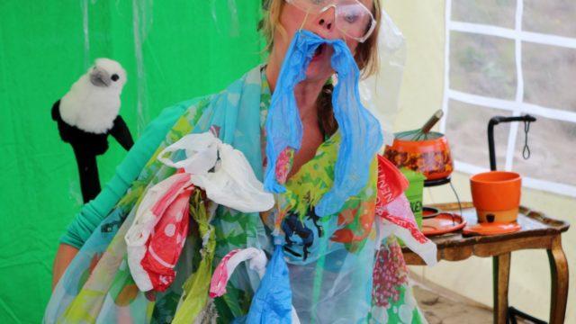 'Mevrouw Groen en de plastic soep'