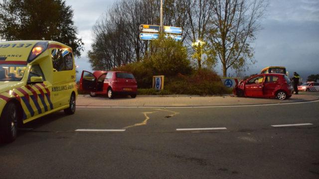 Gewonde bij ongeluk op N212 in Wilnis