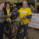Zijlstra neemt fiets in ontvangst
