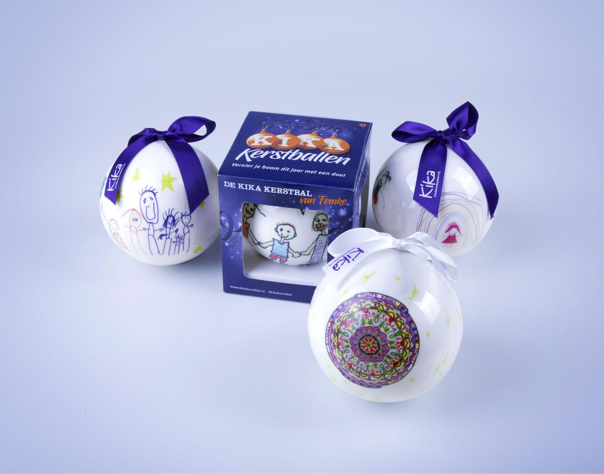 Verwonderlijk KiKa Kerstballen in strijd tegen kinderkanker - Nieuwe Meerbode AQ-59