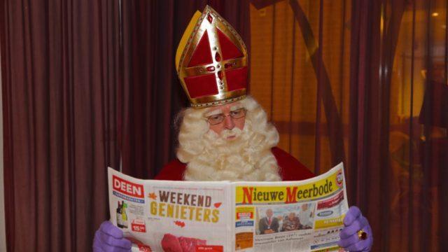 Sinterklaas krijgt hulp van Professor Balthazar