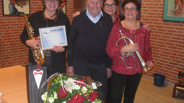 Cees Klein 70 jaar lid