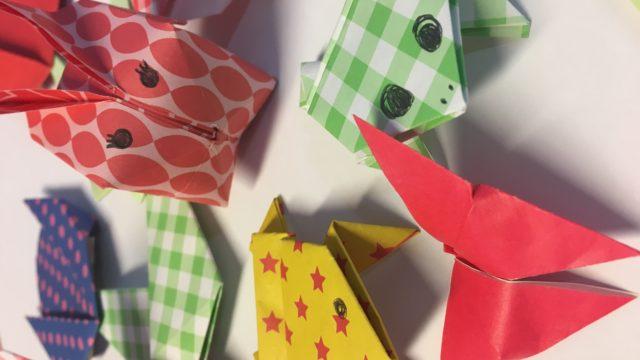 Origamini workshop lente voor jeugd