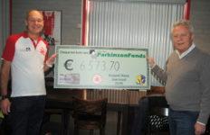 Mooi bedrag voor Stichting ParkinsonFonds