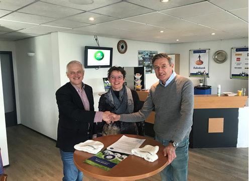 sponsorcontract Gezondheidscentrum Croonstad
