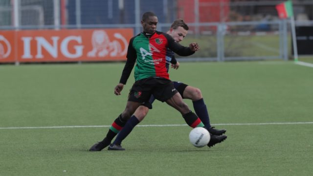 verlies en gelijk spel bij de voetbal FC Aalsmeer